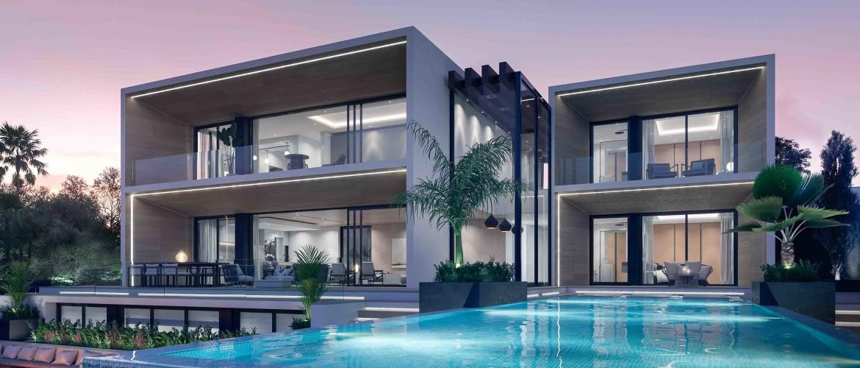 Elegant & Modern design Villa with Golf & Sea View