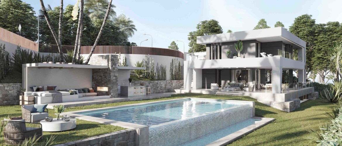 Amazing contemporary Villa in one of the best locations in the Estepona area
