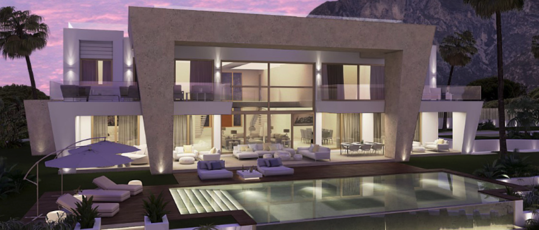 Sierra Blanca, Newly Built Villa with Sea Views