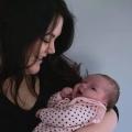 Mama en baby