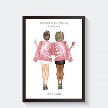 Vriendschap poster