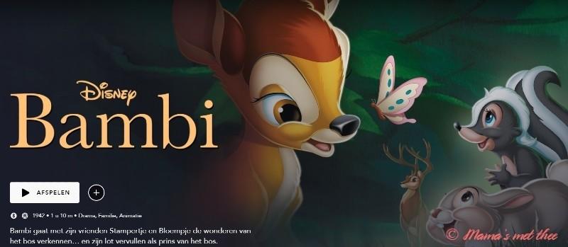 Disney+ Bambi