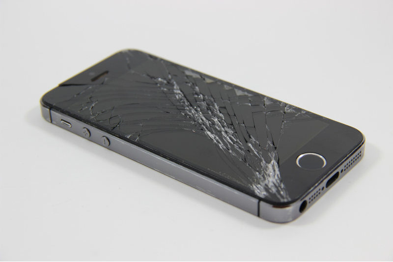Kapot scherm iPhone