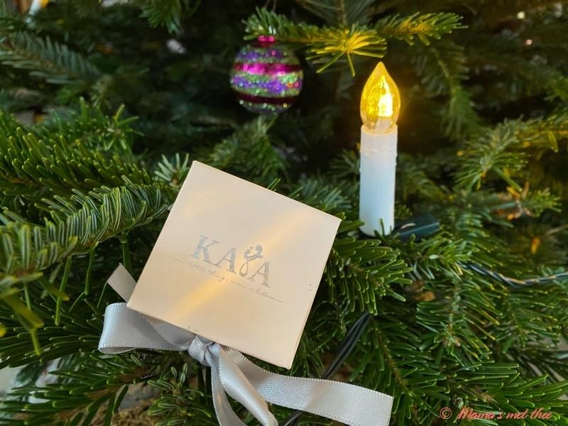 Sieraden cadeau voor kerst