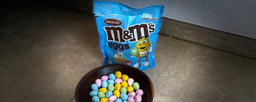 Paaseitjes van M&M's