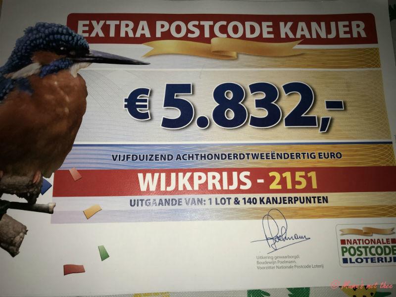 54,7 Miljoen postcodeloterij