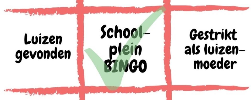 Schoolplein Bingo!