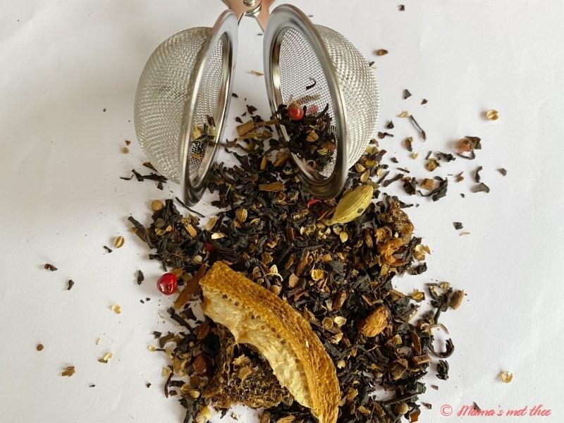 TeaKing_Sinaasappel koekjes thee