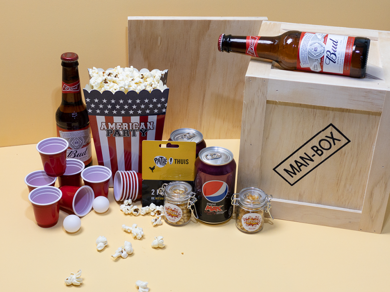 Man-Box Film Cadeaubox