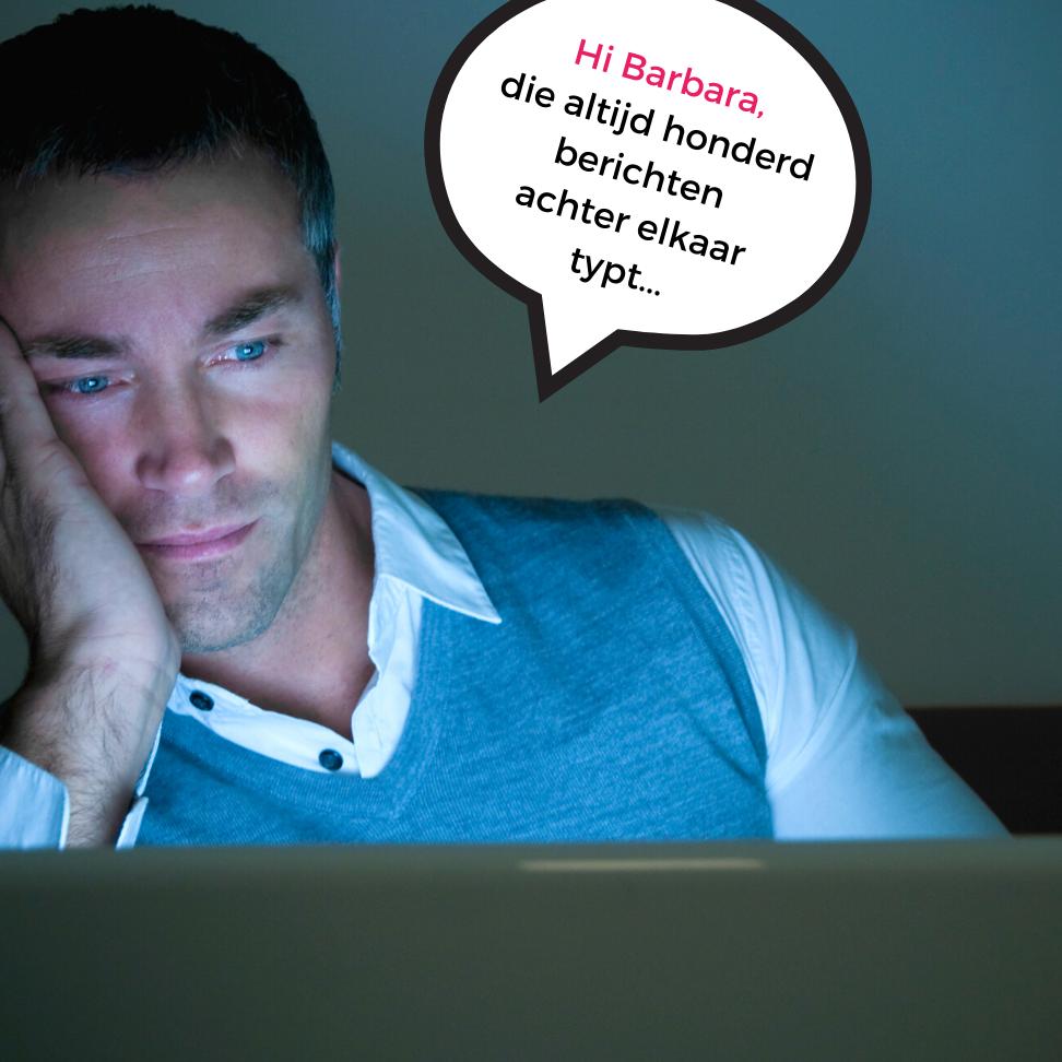 Verveelde Man Tijdens Online Borrel