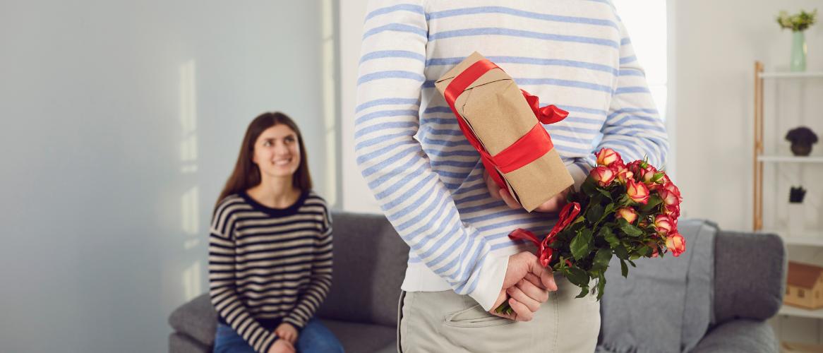 Cadeau voor een man voor Valetijnsdag