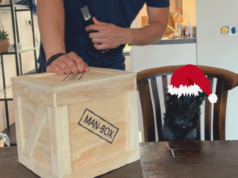 Man-Box Unboxing Kerst