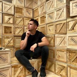 Man-Box Kevin Social Wall