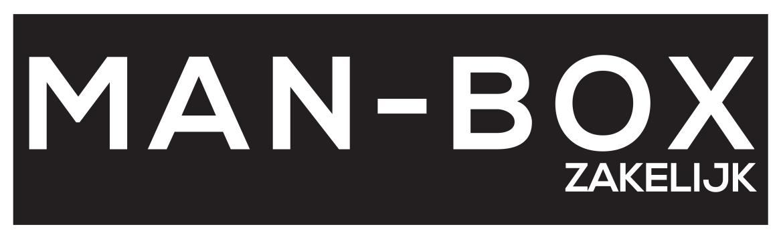 Een logo van Man-Box Zakelijk