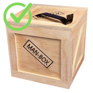 Man-Box Check Mark