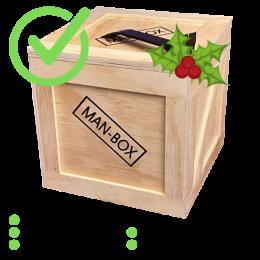 Man-Box Kerstpakket USP's