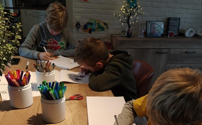 Intuitief Tekenen met kinderen