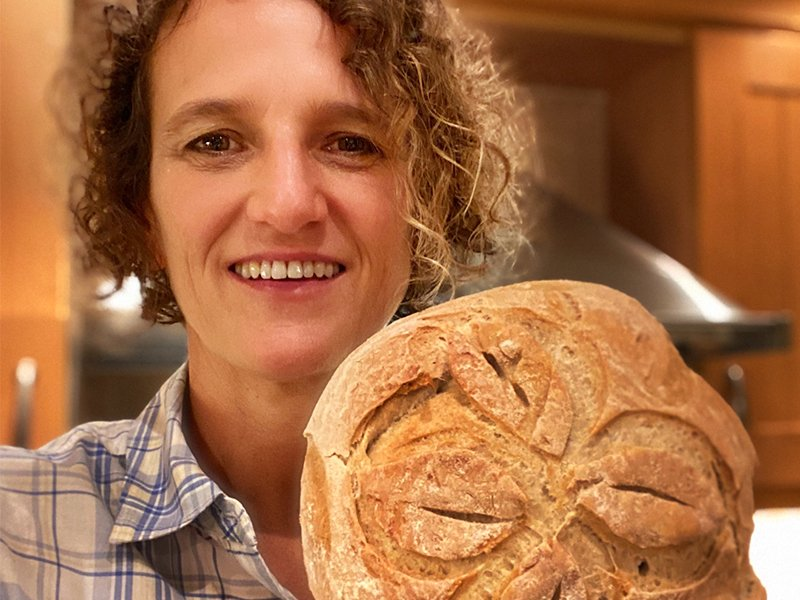 Astrid - trotse thuisbakker Marije Bakt Brood