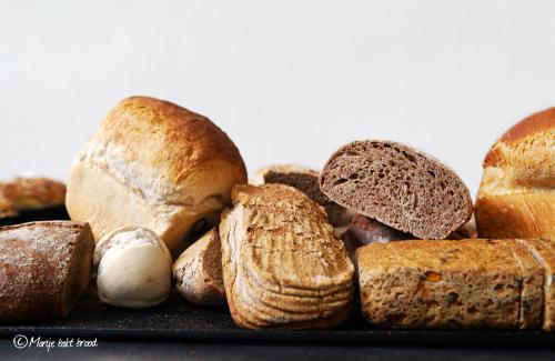Broodvariaties - Marije Bakt Brood