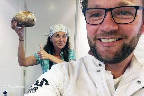 Edwin Klaassen en Marije Bakt Brood