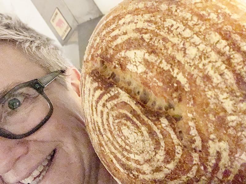 Hendrien Godschalk trotse thuisbakker Marije Bakt Brood