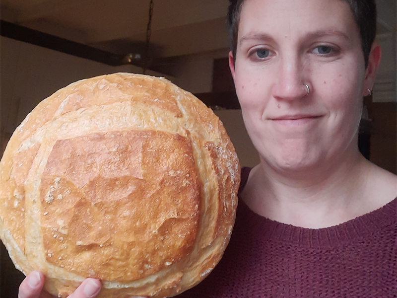 Johanna Verhaaf - Trotse Thuisbakker Marije Bakt Brood
