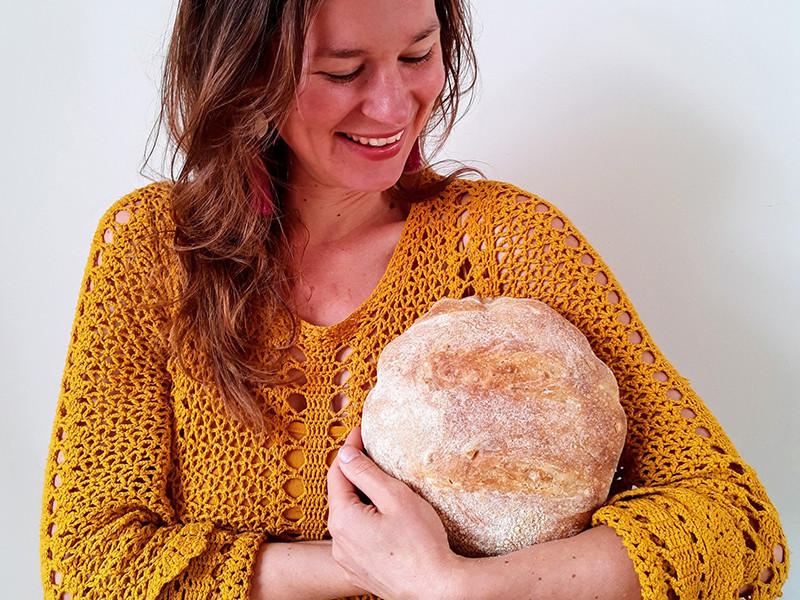 Jolijn - trotse thuisbakker Marije Bakt Brood
