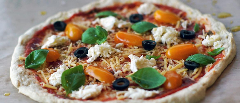 Een pizza is gemaakt om te beleggen!