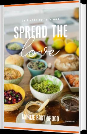 #SPREADTHELOVE-ebook Marije Bakt Brood 9 plantaardige recepten