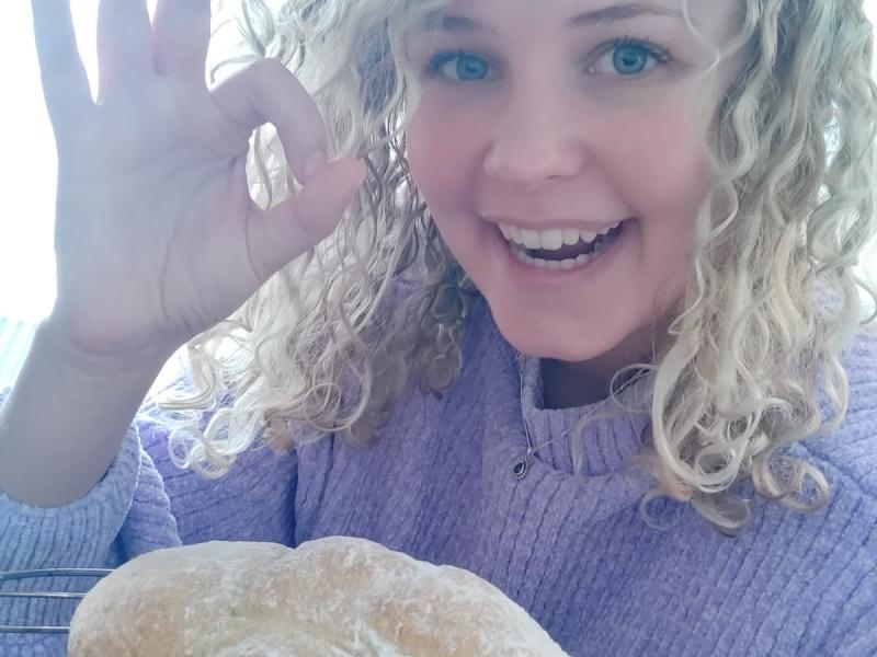 Annick - trotse thuisbakker Marije Bakt Brood