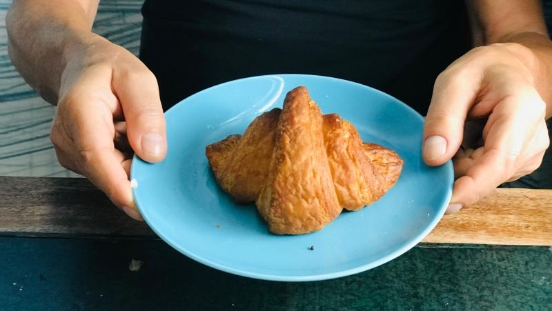 Vegan croissant - Marije Bakt Brood