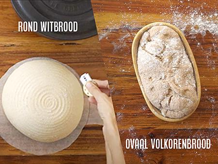 Volkorenbrood en witbrood cursus