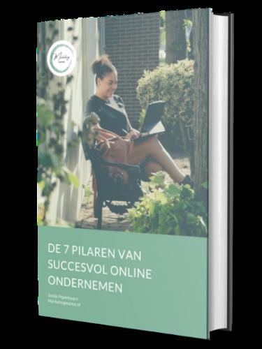 De 7 pilaren van succesvol online ondernemen