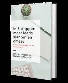 ebook meer leads klanten en omzet