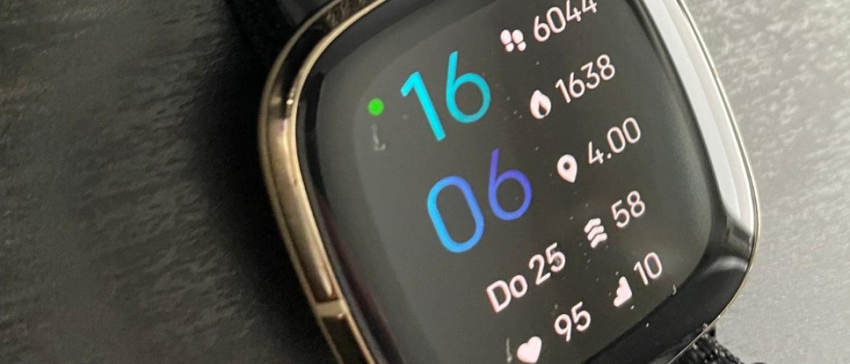 Fitbit Sense, dé smartwatch voor een gezonde levensstijl