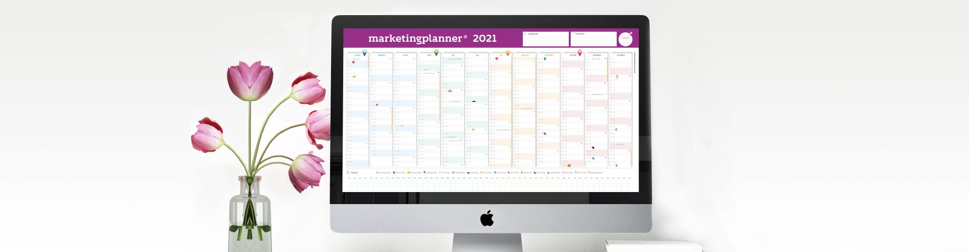 Gratis download marketingplanner 2021