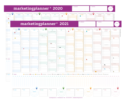 Marketingplanner A1
