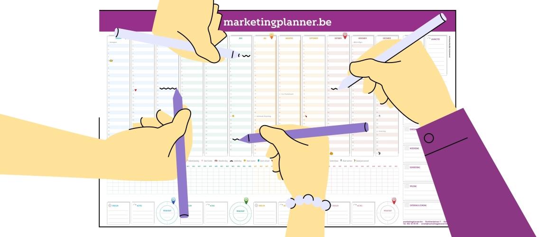 Zet je marketingplanner optimaal in.