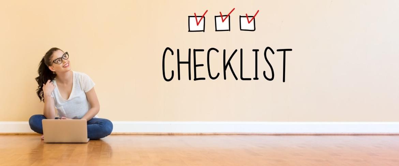 Onboarden van klanten checklist