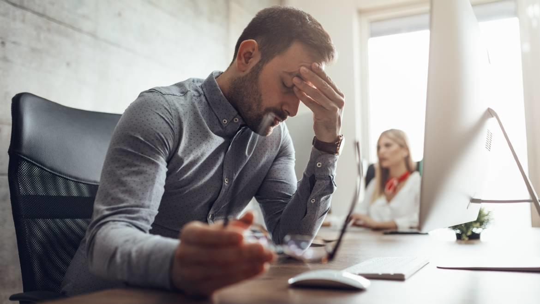 Burn out en depressie achter de computer