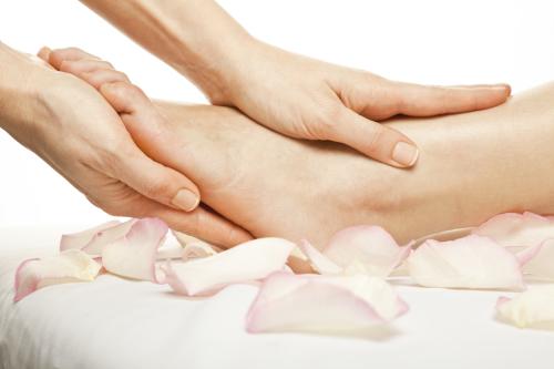 thuisstudie voetmassage