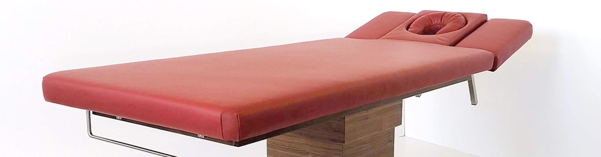 Golden Falcon Massagetafel in roodbruin