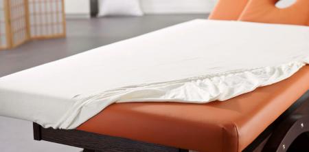 Oliebestendig overtrek massagetafe