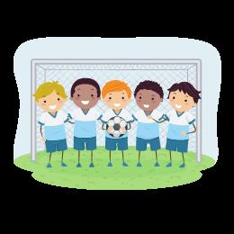 Voetbalschool voor kinderen