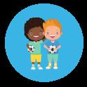 Voetbalschool persoonlijke ontwikkeling