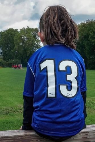Teleurstelling voetbal training