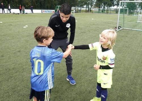 Voetbalschool met plezier