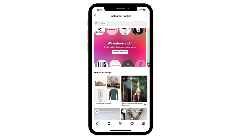 Instagram Shopping inzetten voor je bedrijf
