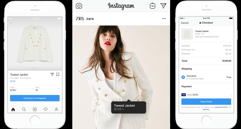 aan de slag met instagram shopping