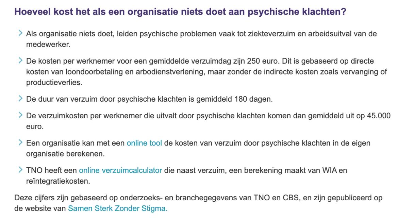 Statistieken Psychische Klachten Nederlands Instituut voor Psychologen
